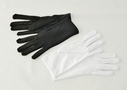 Gloves (White / Black )
